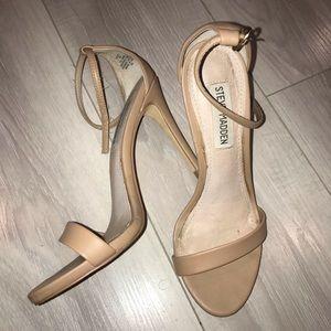 Steve Madden, soft leather strappy heel